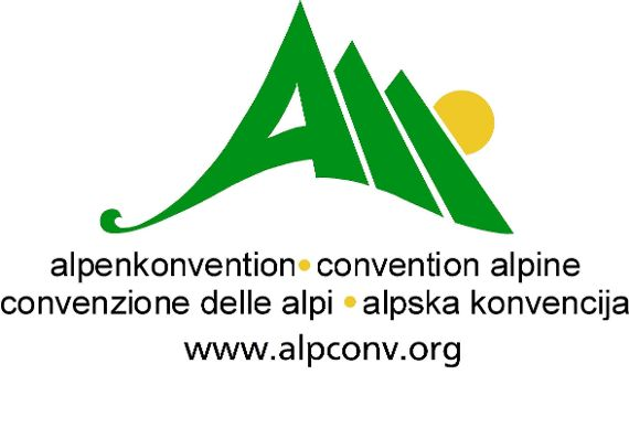 Alpenkonvention Logo